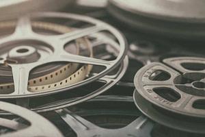Vintage 8mm Film Reels